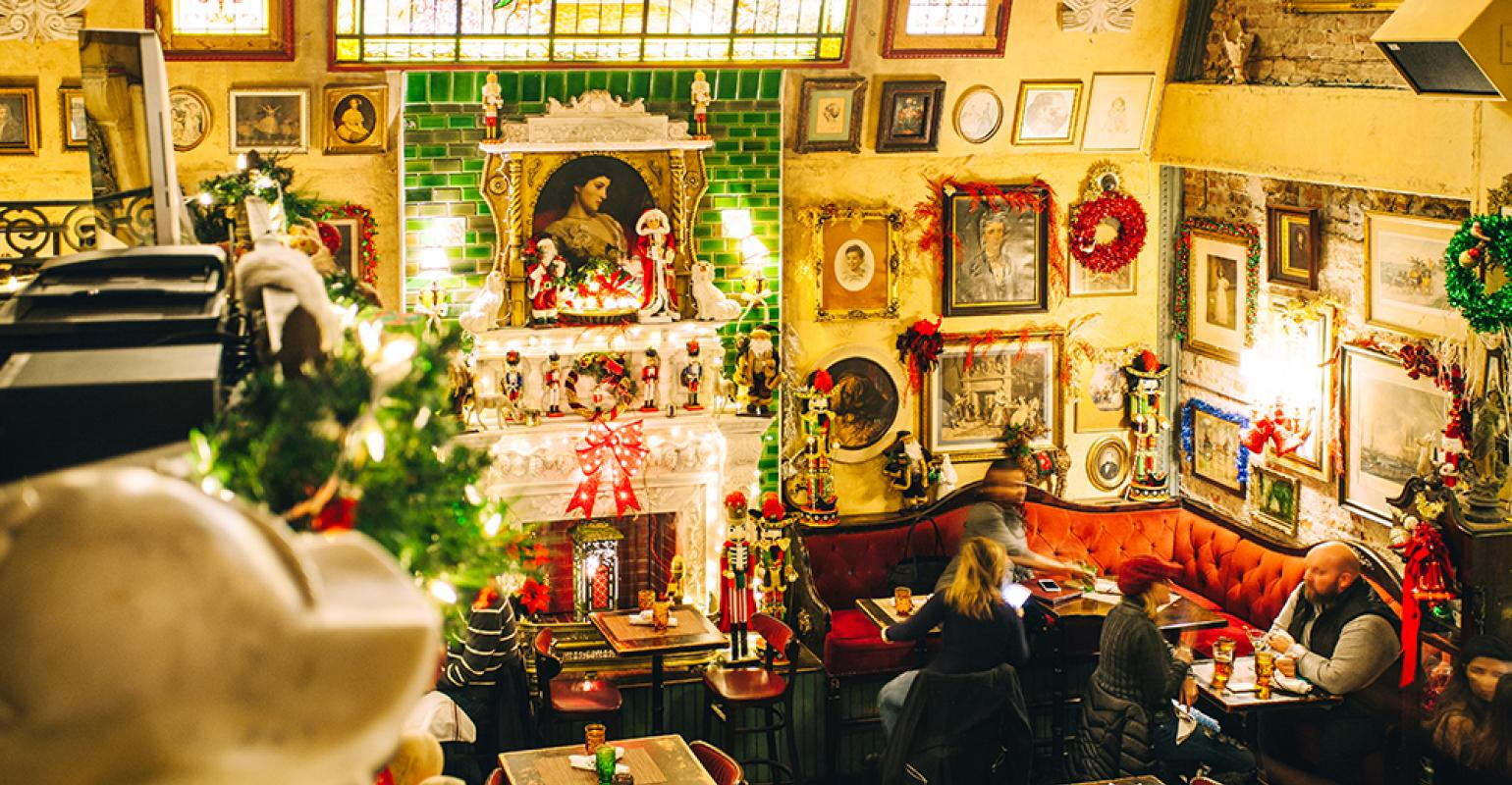 The Most Festive Restaurants To Get You