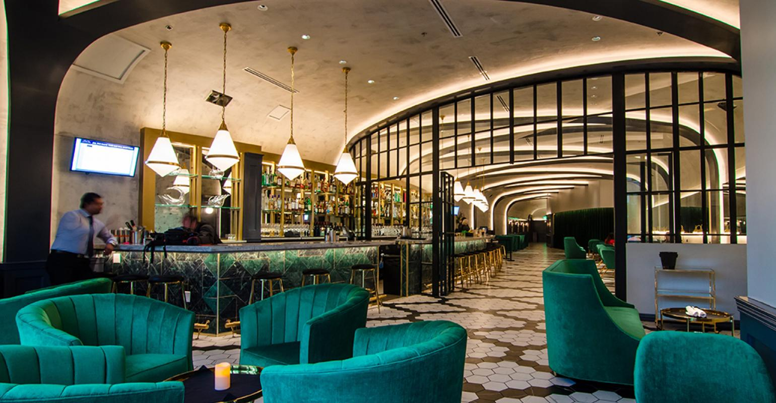 Great Room: Quill Lounge delivers glamour in Dallas Design