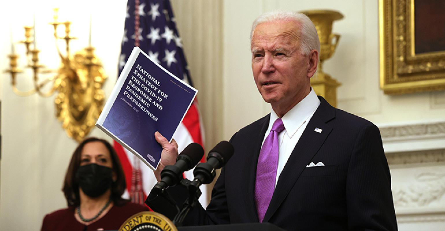 Biden coronavirus response plan includes orders for rules on restaurant operations and worker safety