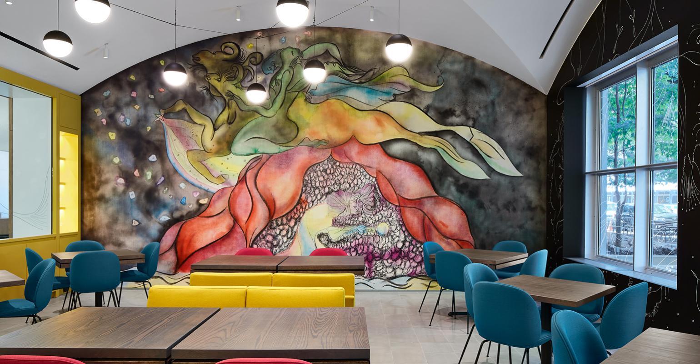Restaurant Murals Serve Up Bold Visuals Restaurant Hospitality