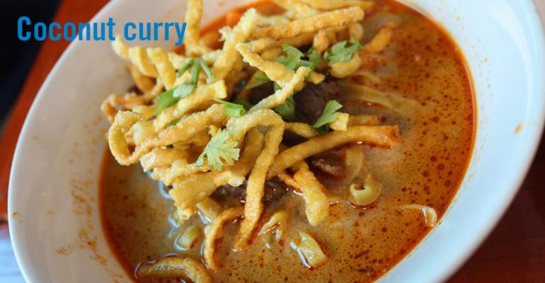 Flavor of the Week: Coconut curry rises on versatility, health halo