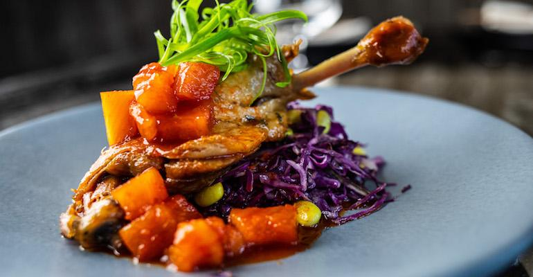 French meets Asian duck at Animae in San Diego