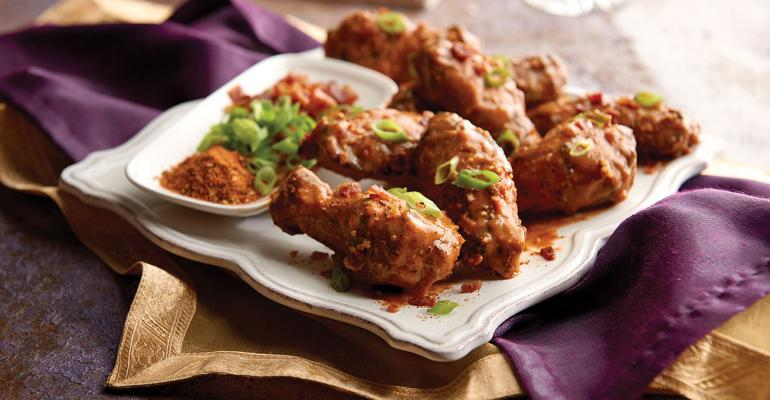 Innovative flavors drive chicken wing sales