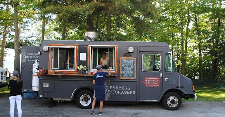 Food Truck sidebar