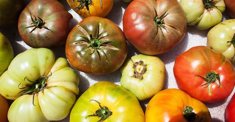 Heirloom tomatoes flavor of the week.jpg