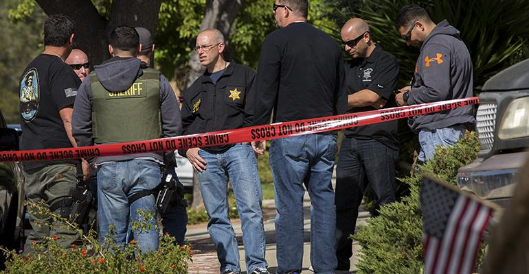 Gunman kills 12 at Southern California restaurant and bar