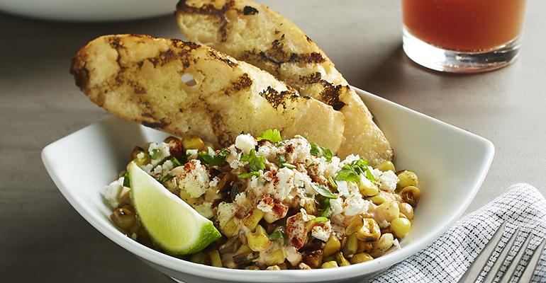 Chefs play up corn's versatility