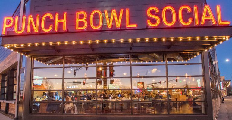 punch bowl social exterior