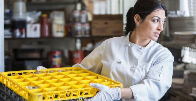 women's rights restaurant worker