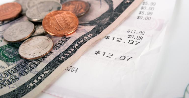 restaurant receipt tip