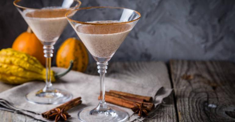 Fall martinis