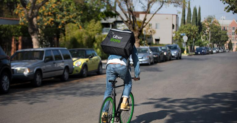 Uber Eats delivery
