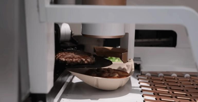 Video of the week: Burger bot startup opens first restaurant