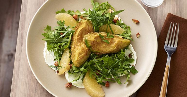 Arugula Avocado Salad