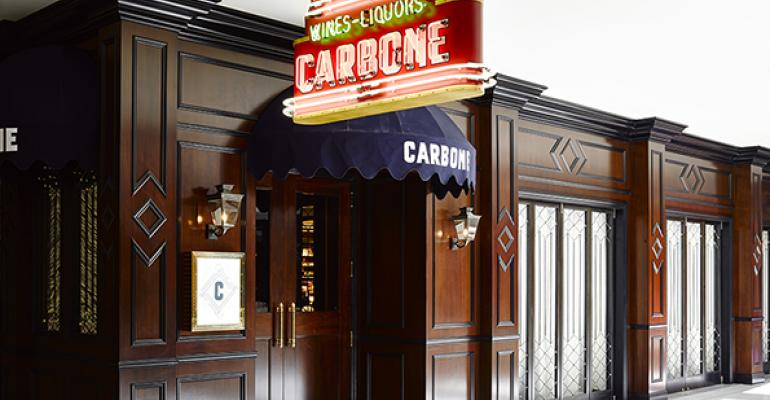 New York City's Carbone takes Las Vegas