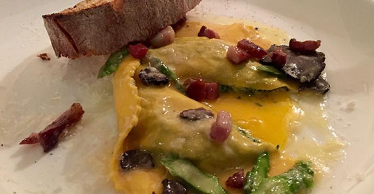 Menu Moves: Runny eggs move beyond breakfast