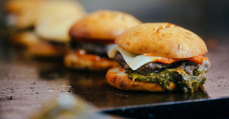 LocoL restaurant cheeseburgers