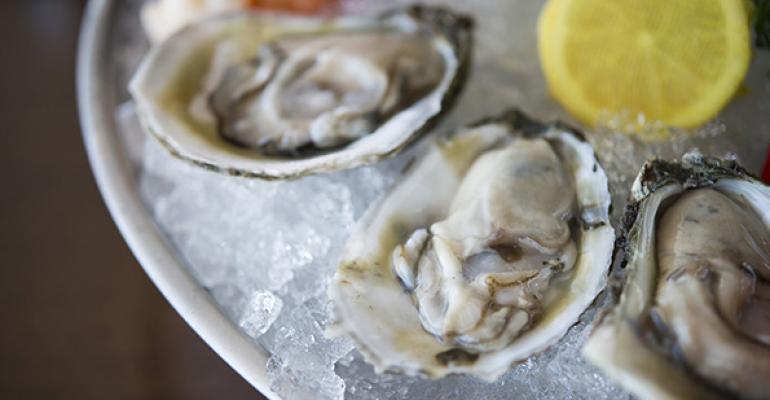 A look inside The Ritz Prime Seafood's menu