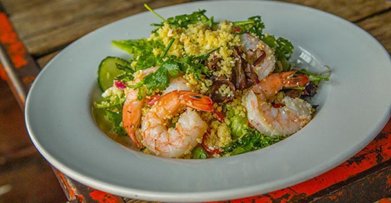 Seafood salads take on global flavor