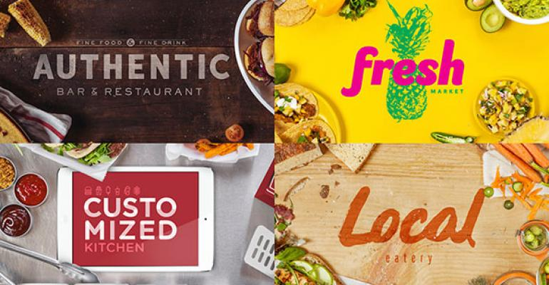 4 buzzwords to strengthen menus and marketing