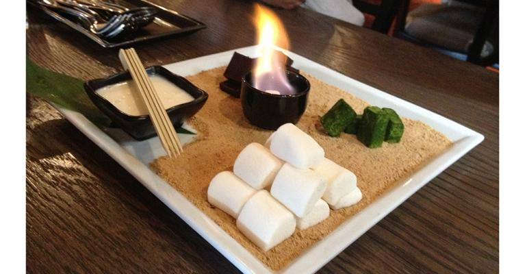 Chefs make s'mores sexy