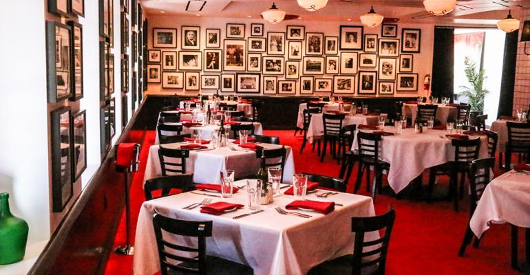 A look inside Saint Rocco's New York Italian