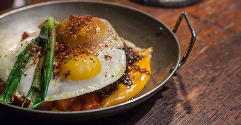 Inside Boston's dynamic Steel & Rye restaurant