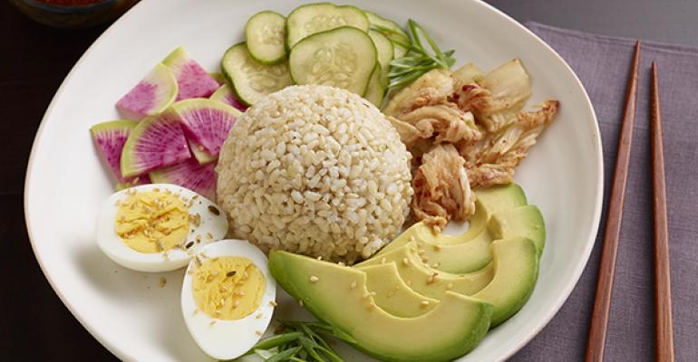 Asian flavors add interest to late summer menus