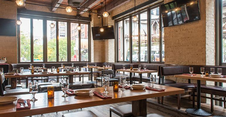 A closer look at today's restaurant design trends