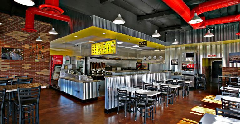 kebab shop interior
