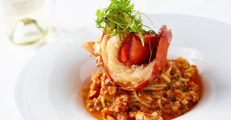 lobster bolognese