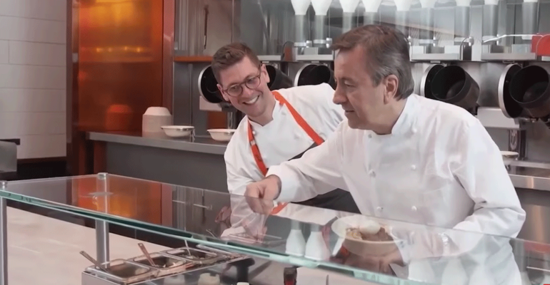 Video Of The Week: Daniel Boulud And MIT Grads To Debut Robotic Kitchen
