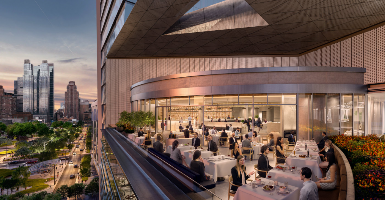 Inside New York's Hudson Yards development