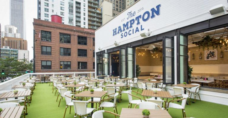 Parker Restaurant Group readies female-friendly Chicago concept The Hampton Social for national growth