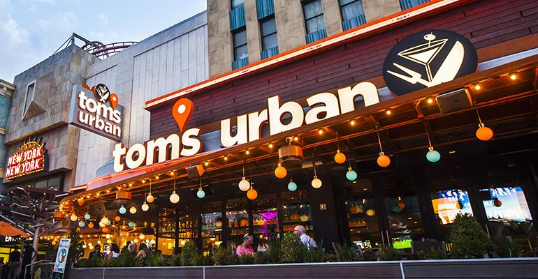 Smashburger sister brand Tom's Urban gets consumers off the couch