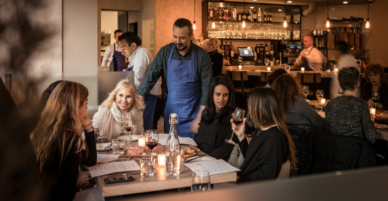 1. Flex-casual restaurants shift formats by daypart