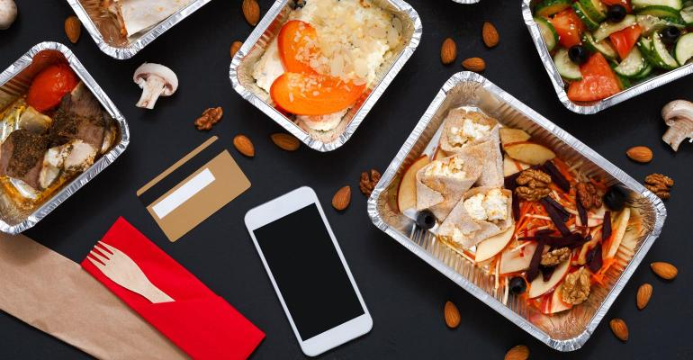 1. Delivery represents 3% of all restaurant orders