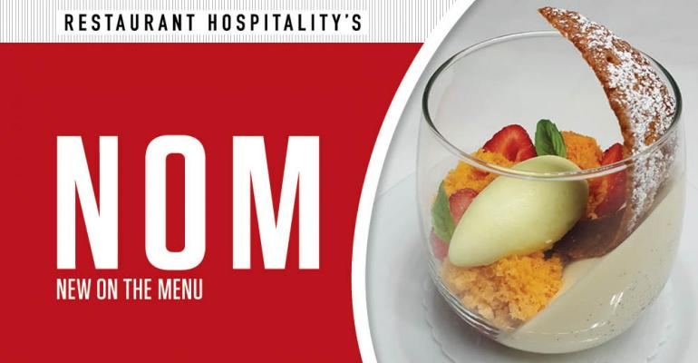 1. New on the Menu: Tomato-strawberry verrine at Daniel Boulud concept, alt-noodles