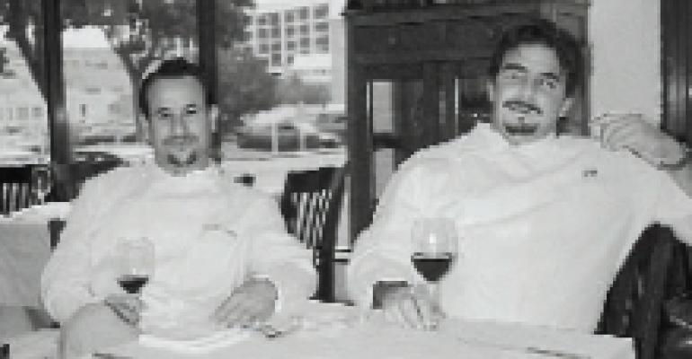 Josiah Citrin and Raphael Lunetta, Chef/Owners, JiRaffe, Santa Monica, CA