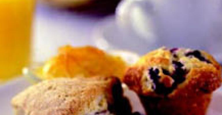 Blueberry Mini-Scones