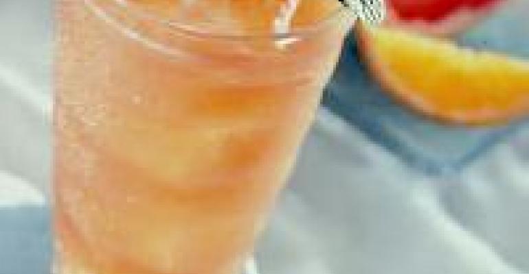 Fresh Grapefruit and Orange Cooler