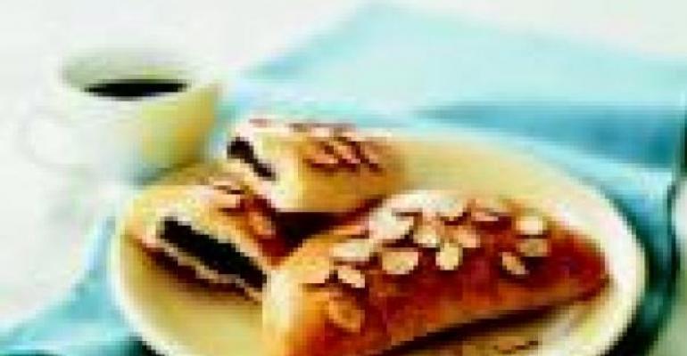 Almond Chocolate Calzones