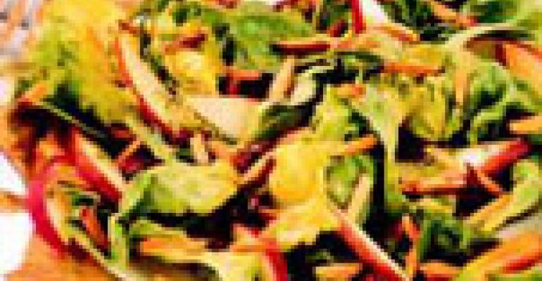 Sweet, Salty Szechwan Vinaigrette Salad