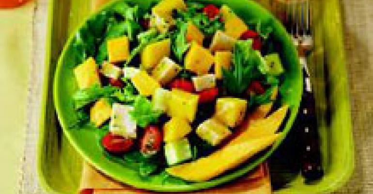 Mango and Smoked Turkey Salad