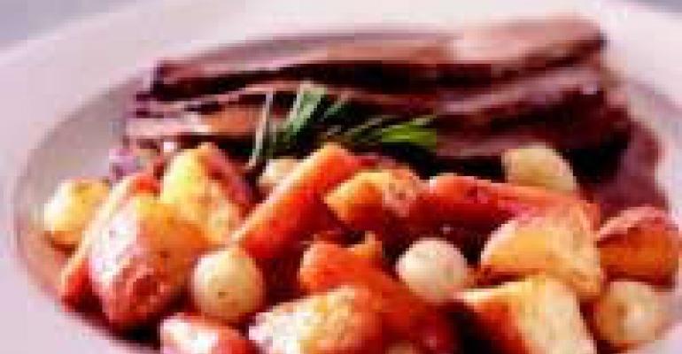 Pot Roasted Vegetables
