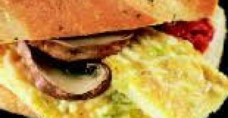 Frittata Parmesan Sandwich