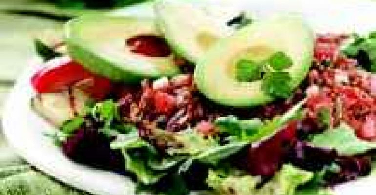 Avocado and Wehani Rice Salad