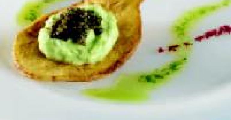 Caviar & Idaho Potato Spoons