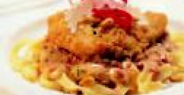 Fiery Pesto Alfredo Chicken