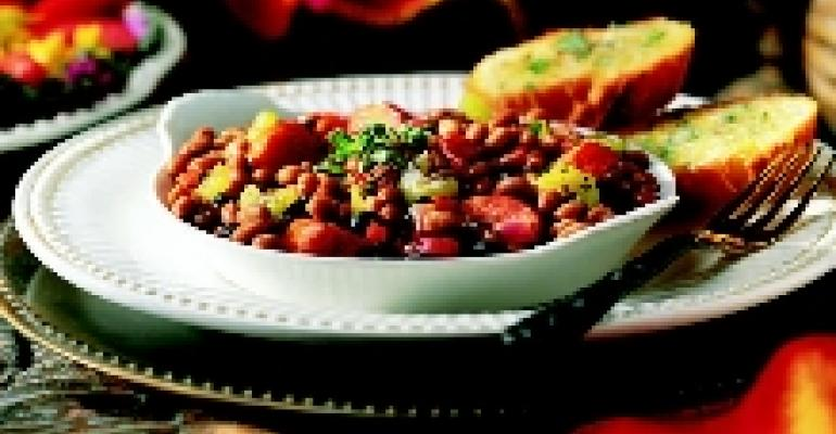 Creole Barbecue Baked Beans